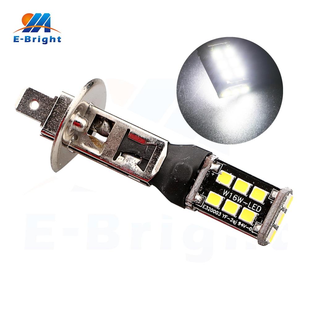 6pcs 12V <font><b>24V</b></font> Canbus 2835 15 SMD Error Free <font><b>Led</b></font> Bulbs 9005 9006 H1 H3 H4 <font><b>H7</b></font> H11 Fog Light Turn Lamp Headlight Free Shipping