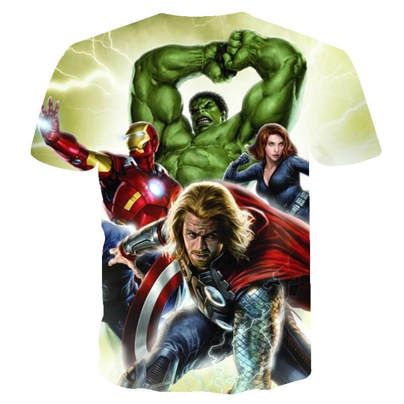 Мстители Бесконечность войны футболка 3d Raytheon Человек-паук с графическим принтом Новая мужская рубашка короткий рукав футболки унисекс harajuku футболка