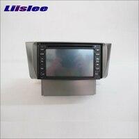 Liislee для LEXUS LS 430 2000 ~ 2007 радио CD DVD стерео плеер gps навигатор система двойной Din Автомобильная аудиоустановка набор