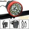 WasaFire 20000lm 12 * XM-L T6 светодиодный велосипедный фонарь для велоспорта  фара для велосипеда  фонарь для рыбалки  передняя фара  3 режима  лампа