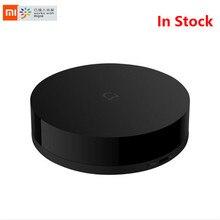 Estoque xiaomi mijia universal inteligente controle remoto eletrodomésticos wi fi + ir interruptor de 360 graus inteligente para ar condicionado tv dvd
