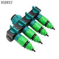 Wxrwxy Garden Hose Splitter Water Pipe 4 Way Tap Garden Tap Connector 4 7 Mm Cranes