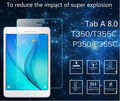 0.3MM 9H Ultra Thin Premium Tempered Glass Screen Guard Protector Film For Samsung Galaxy TAB A 8.0 T350 T351 T355  8""