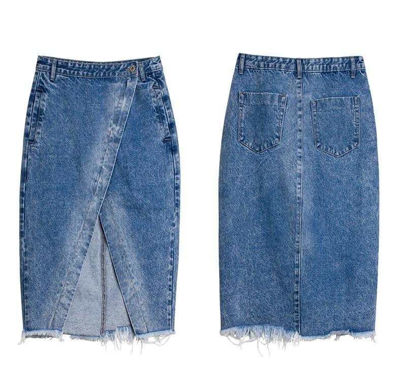 Skirt of female skirt hairline furl furl to wrap hip bull-puncher skirt irregular tassel tall waist skirt of halter MIDI skirt (23)