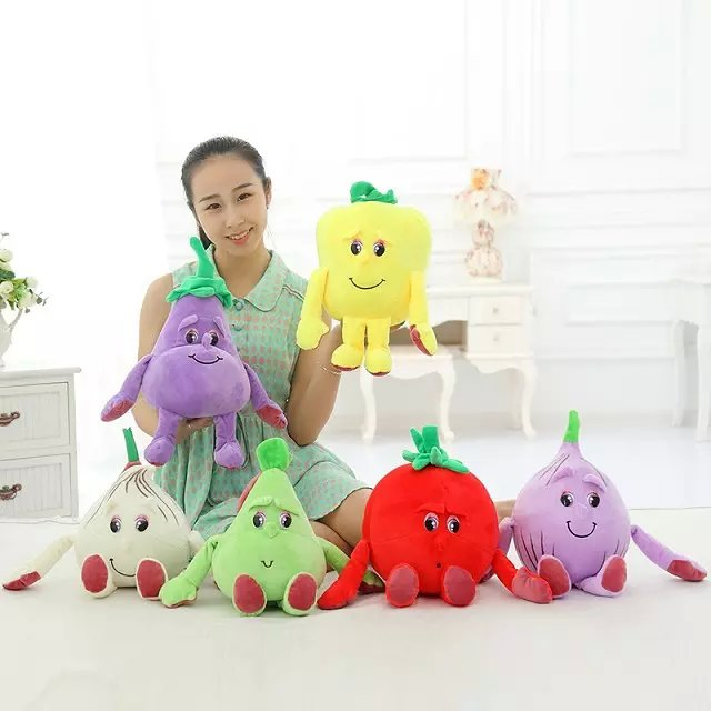 Candice guo plush toy stuffed doll cute emulational vegetable fruit onion garlic eggplant pear tomato pepper birthday gift 1pc candice guo super q cartoon chubby hamster squirrel plush toy doll backpack shoulder bag birthday gift 1pc