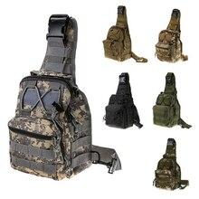 Men's 1000D Nylon Messenger Bag Leisure Camouflage Tactical Shoulder Bag Waterproof Outdoor Sport Shopping Camping Hiking Bags