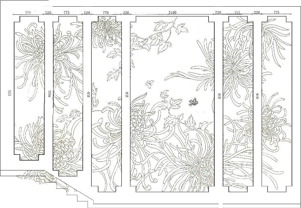 Ручная роспись дупиони шелковые обои картина цветок растений с птицами ручная роспись обои широкий выбор мотивов/фон опционально