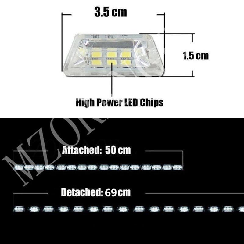 DRL Flexibel Knight Rider LED Strip Light Sequential led för - Bilbelysning - Foto 2