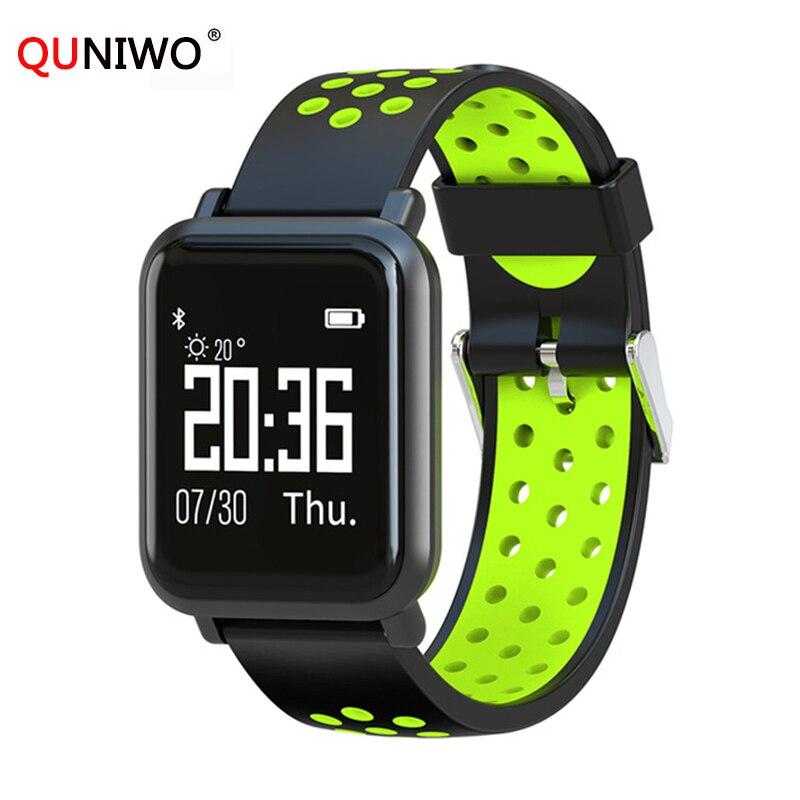 2018 Smartwatch H5 2.5D OLED Screen Gorilla Glass Blood oxygen Blood pressure BRIM IP68 Waterproof Activity Tracker Smart Watch цена