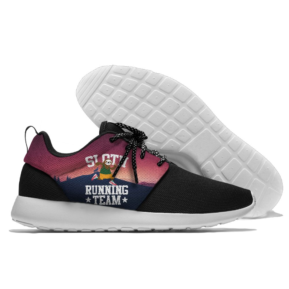 Sloth Running Team Sports Shoes Funny Sneaker Lightweight Classical Amateur Running Shoes For Mens And Womens