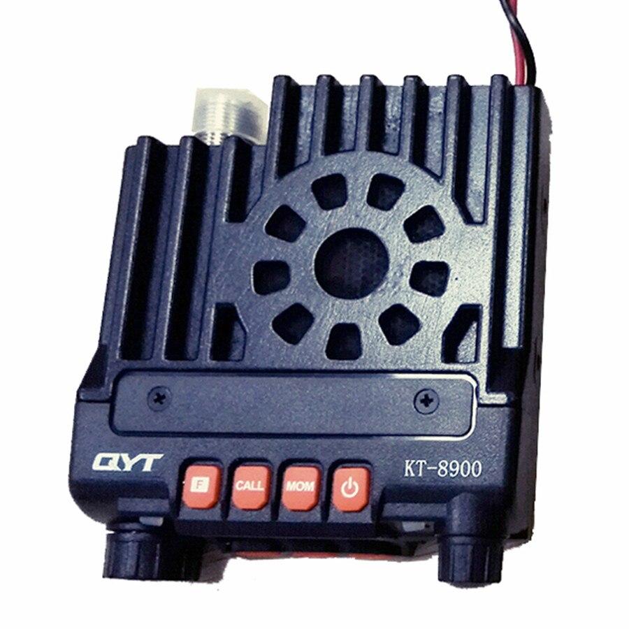 imágenes para Professioal QYT KT-8900/KT8900 Mini de Doble banda de Radio Móvil 136-174/400-480 MHz 25 W Transceptor de potencia KT8900 Mejor venta de radio de coche