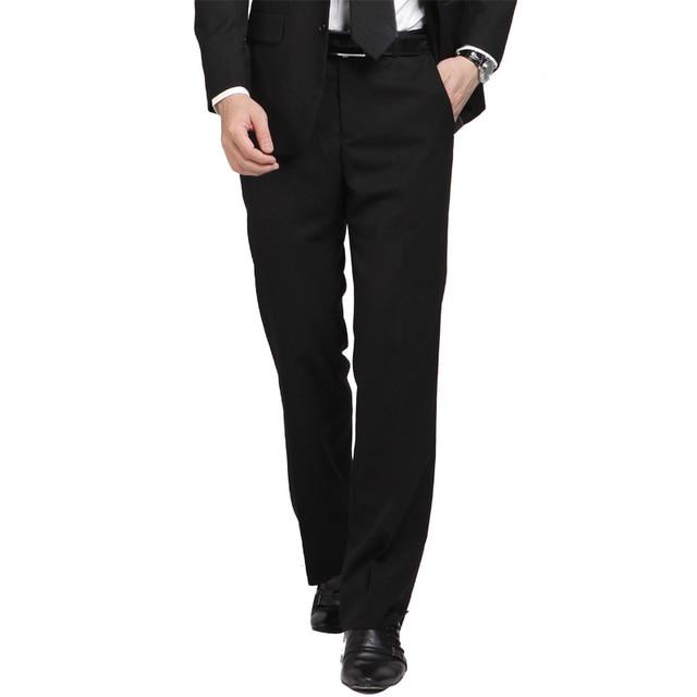 def51e90812 High Quality Brand Clothing Men Pants Formal Full Length Men Dress Pants  Men s Trousers Slim Fit Suit Pants Pantalones Hombre