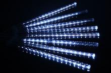 Meteorschauer Regen Led-röhre Lampe 30 cm/50 cm für Restaurants Bar Dekoration Baum Xmas Party Hoilday Beleuchtung 4 Farbe