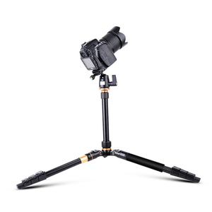 Image 5 - QZSD Q555 Aluminium Alloy Camera Tripod  Video Monopod Professional Extendable Tripod with Quick Release Plate and Ball Head