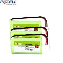 3 Packs Ni MH 2.4V 800mAh Rechargeable VTech BT166342 BT266342 BT162342 BT262342 BT 183342 Sanik 2SN AAA40H S X2 2SNAAA70HSX2F C