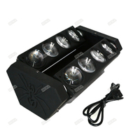2015 New Hot Sale Wholesale Moving Head Light 8*10W Cree LED Spider Dmx RGBW Stage Sharpy Lighting 8PCS/lot