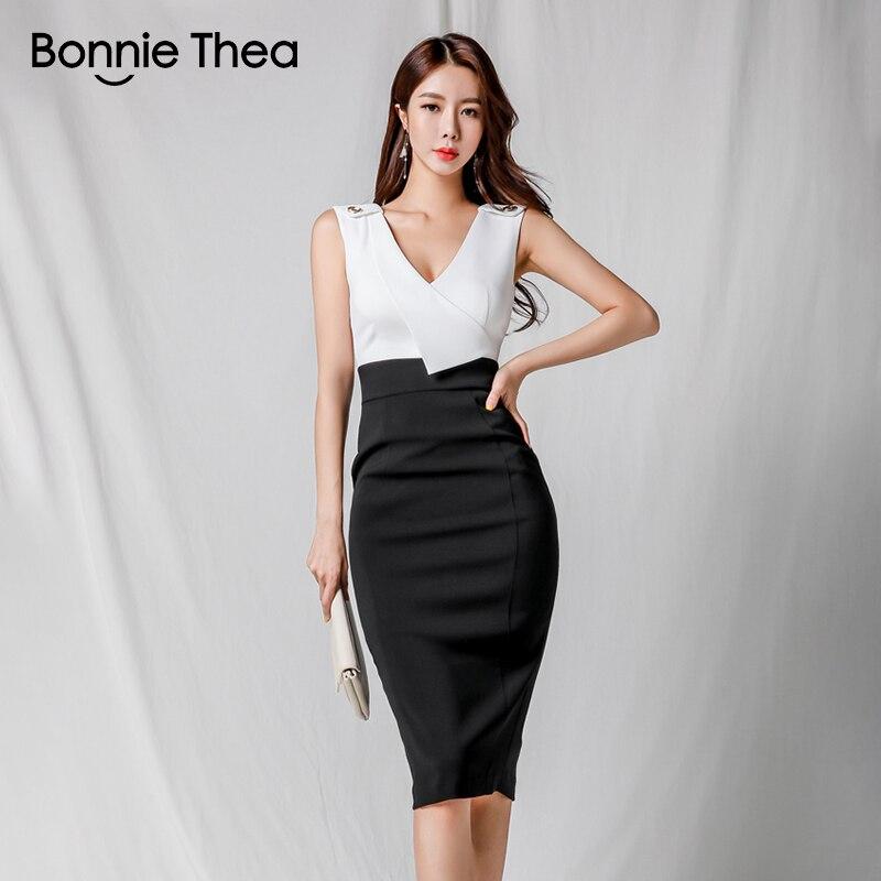 eec1b38a1 Bonnie Thea blanco sexy bodycom sexy de verano vestido de las mujeres  vestidos de lady sólido negro ...