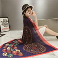 new brand Silk Scarf Women Fashion Designer Brand Scarves Casual Shawls Sjaal Print Foulards Femme Luxury