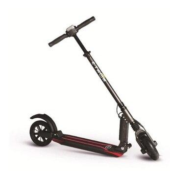 Booster-patinete eléctrico, mini, plegable, con pantalla a color y potenciador de 500W etwow trotinette e twow s2