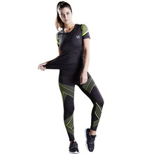 2018 New Women Running Sets Jogging Compression Sports Suit Quick Dry Gym Yoga Set Basketball font