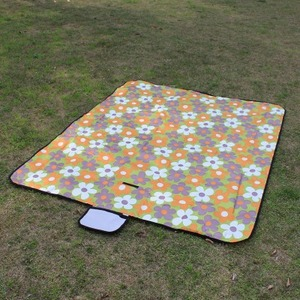 Image 3 - Picnic mat moisture proof mat portable outdoor reinforced picnic cloth spring outing picnic beach field lawn mat1.5*1.8m