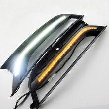 2 Pz/lotto New Car Styling Daytime Running Light Per VW Passat DRL 2012-2015 Passat B7 LED DRL LED Fendinebbia Anteriore lampada