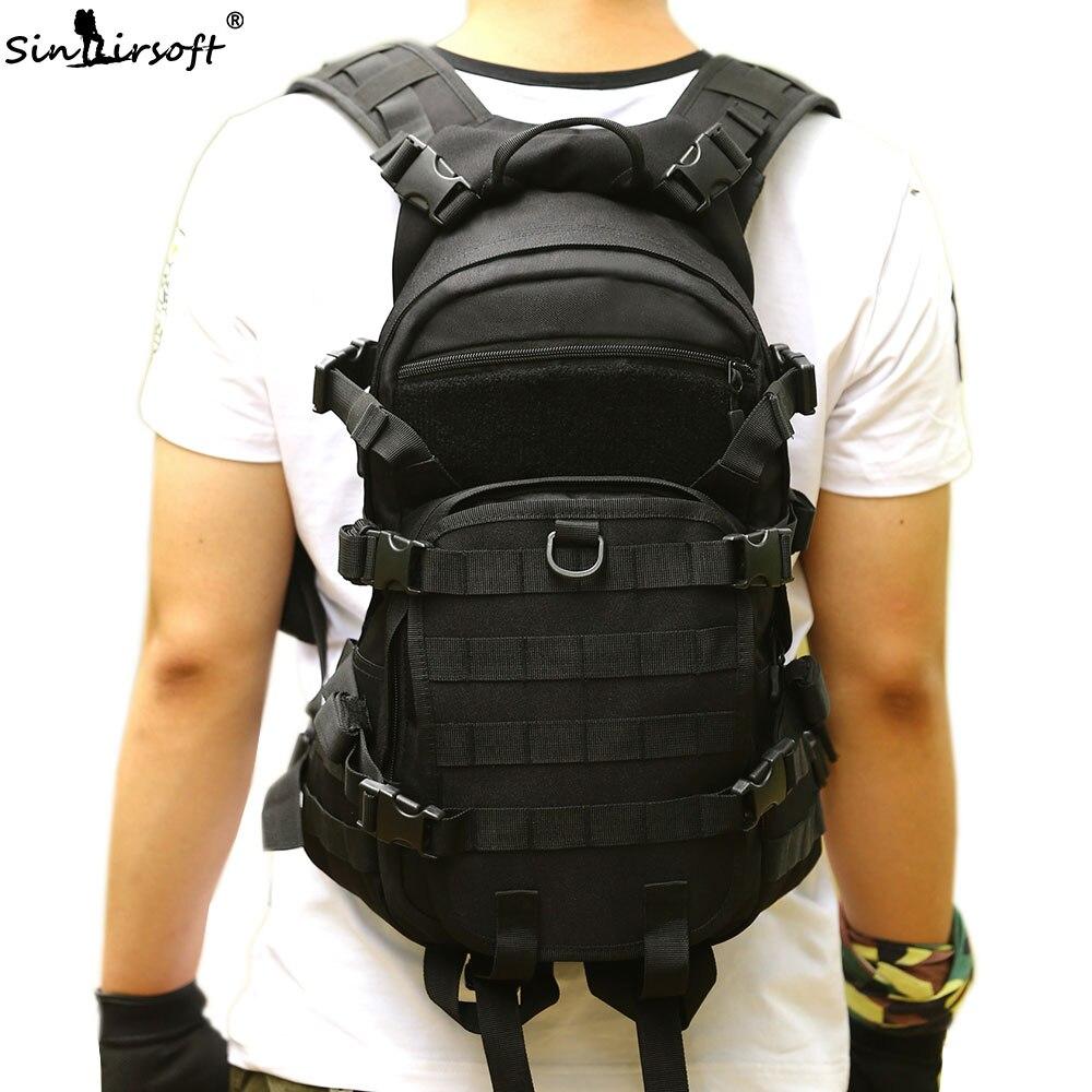 Новый sinairsoft мужской рюкзак в стиле милитари женские рюкзак Трекинговые школы сумка Mochila сумки 25L нейлон камуфляж рюкзак|sport bag|outdoor baghunting camp | АлиЭкспресс