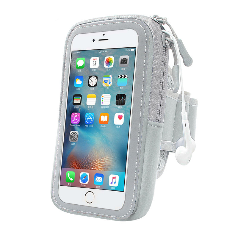 Forceful Wieppo S6 Armbands S6 Lite Running Armband Case Gym Fitness Wallet Arm Phone Bag Case Waterproof Wrist Phone Holder For Wieppo E1 S5 S8 Up-To-Date Styling