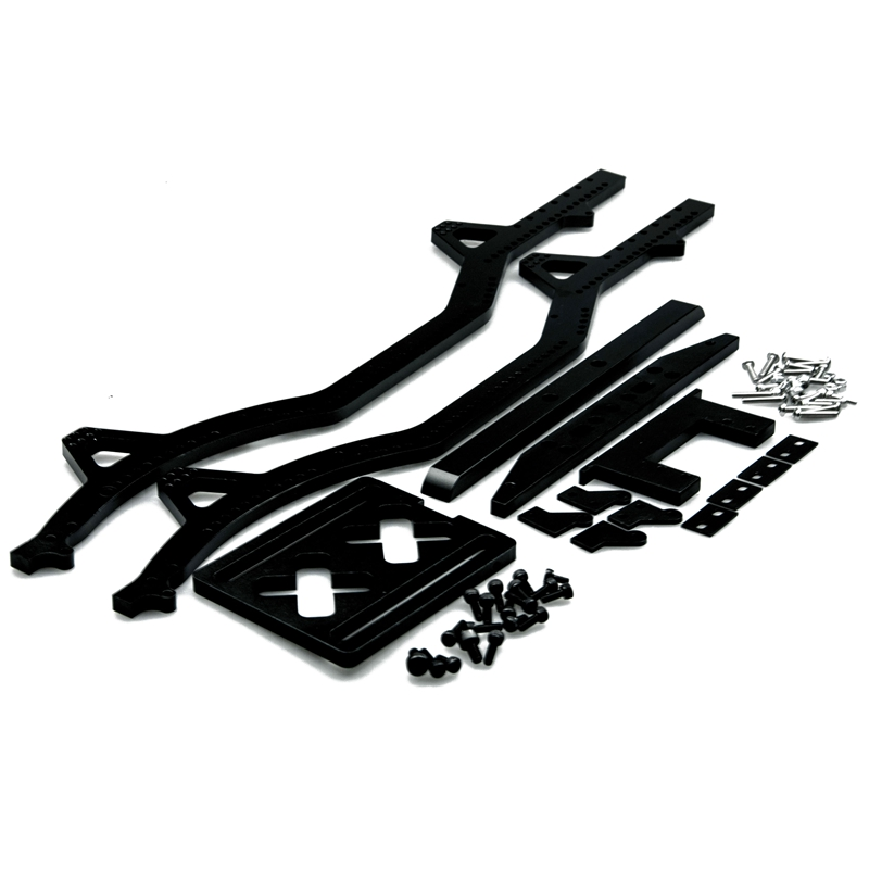 1 Set Great Aluminum Rock Crawler Chassis For 1/10 SCX10/SCX-10 Land Rover D90 Free Shipping руководящий насос range rover land rover 4 0 4 6 1999 2002 p38 oem qvb000050