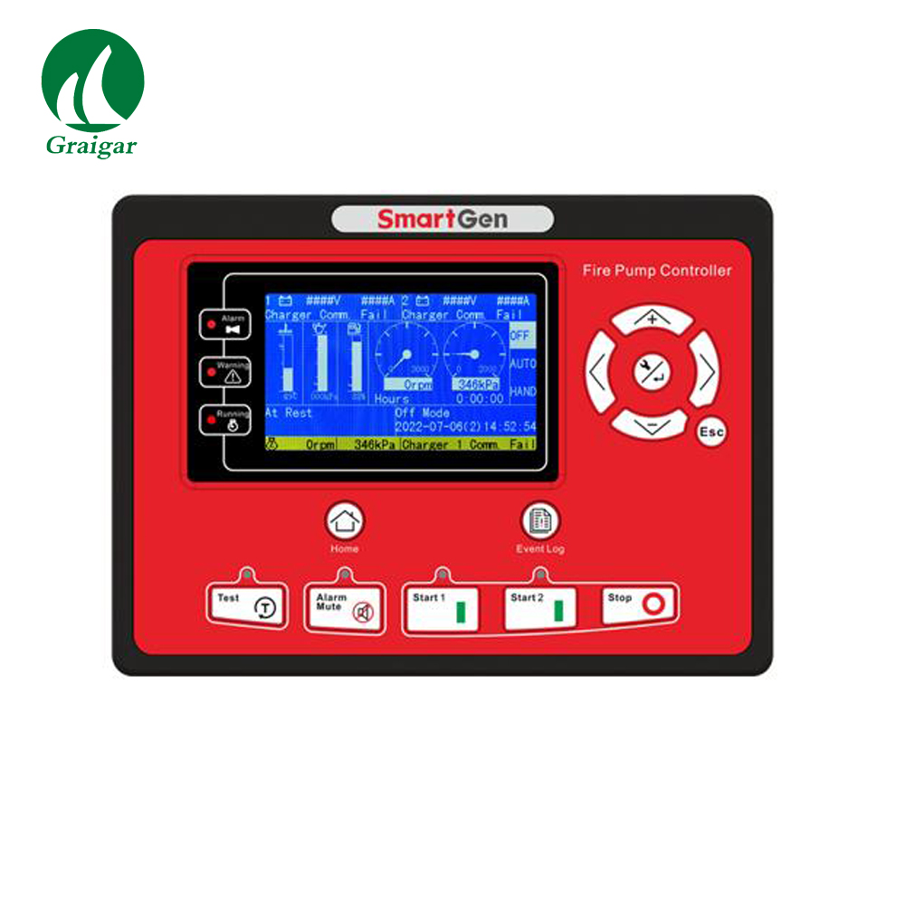 Smartgen FPC915 Diesel Driven Fire Pump Controller for Fire Pump Systems  Which Controlled by Engine-in Motor Controller from Home Improvement on ...