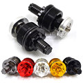 BJGLOBAL- Motorcycle Aluminum Black CNC Preload Fork Cap Adjusters For Yamaha YZF R3 2015 YZ R25 2013 2014