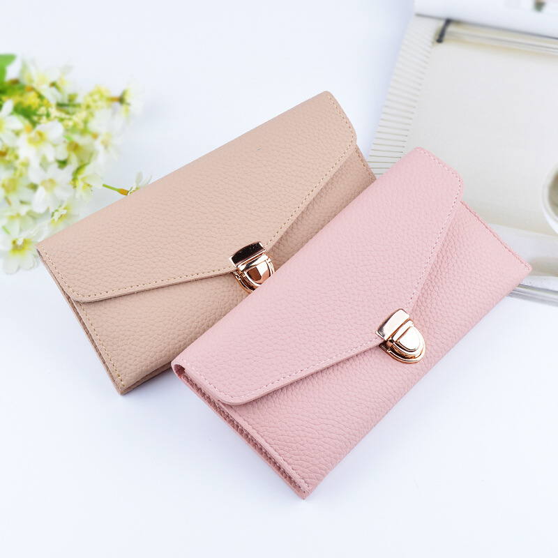 Ladies new hasp long wallet women high quality purse lovely money ladies new hasp long wallet women high quality purse lovely money pouch business card holder portfolios woman smart coin purse in wallets from luggage colourmoves Image collections