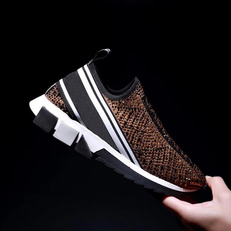 casual Rhinestone sneakers slip on shoes men&women Real DG luxury brand designer shoes sneakers for man running shoes woman casual Rhinestone sneakers slip on shoes men&women Real DG luxury brand designer shoes sneakers for man running shoes woman
