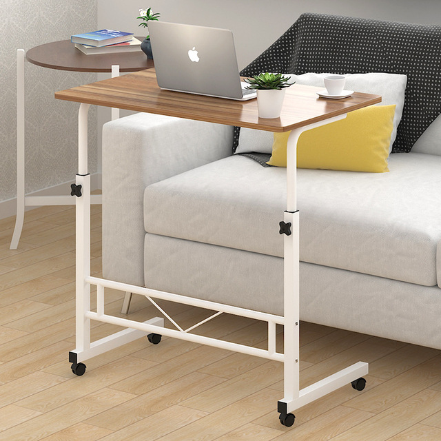 Portable Folding Computer Desk Simple Modern Laptop Table Lifting Adjusting  Desk Office Desk Learning Writing Table