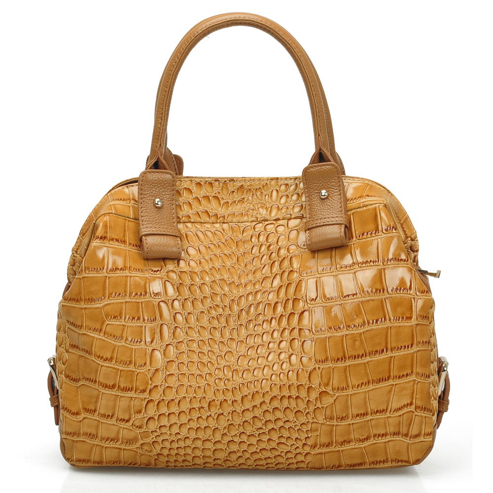 2012 Crocodile Pattern Fashion Luxury Vintage Genuine
