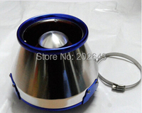 22088 high flow car air filter with aluminum cover & 76/89/102mm adaptor universal for car air intake filter for opel astra h