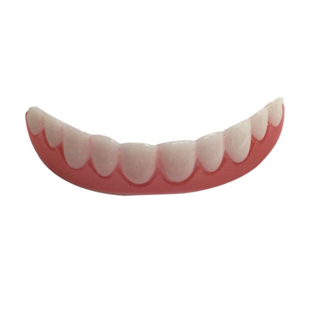 Comfortable Silicone Perfect Smile Veneers Men Women Teeth Upper Cosmetic Veneer Tooth Cover Beauty Tool Teeth Whitening new 4