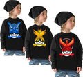 Pokemon Go Kids Baby Boys Girls Cotton Tops Long Sleeve Summer Tees Shirt Blouse girls boys t shirt tshirt shirts for children
