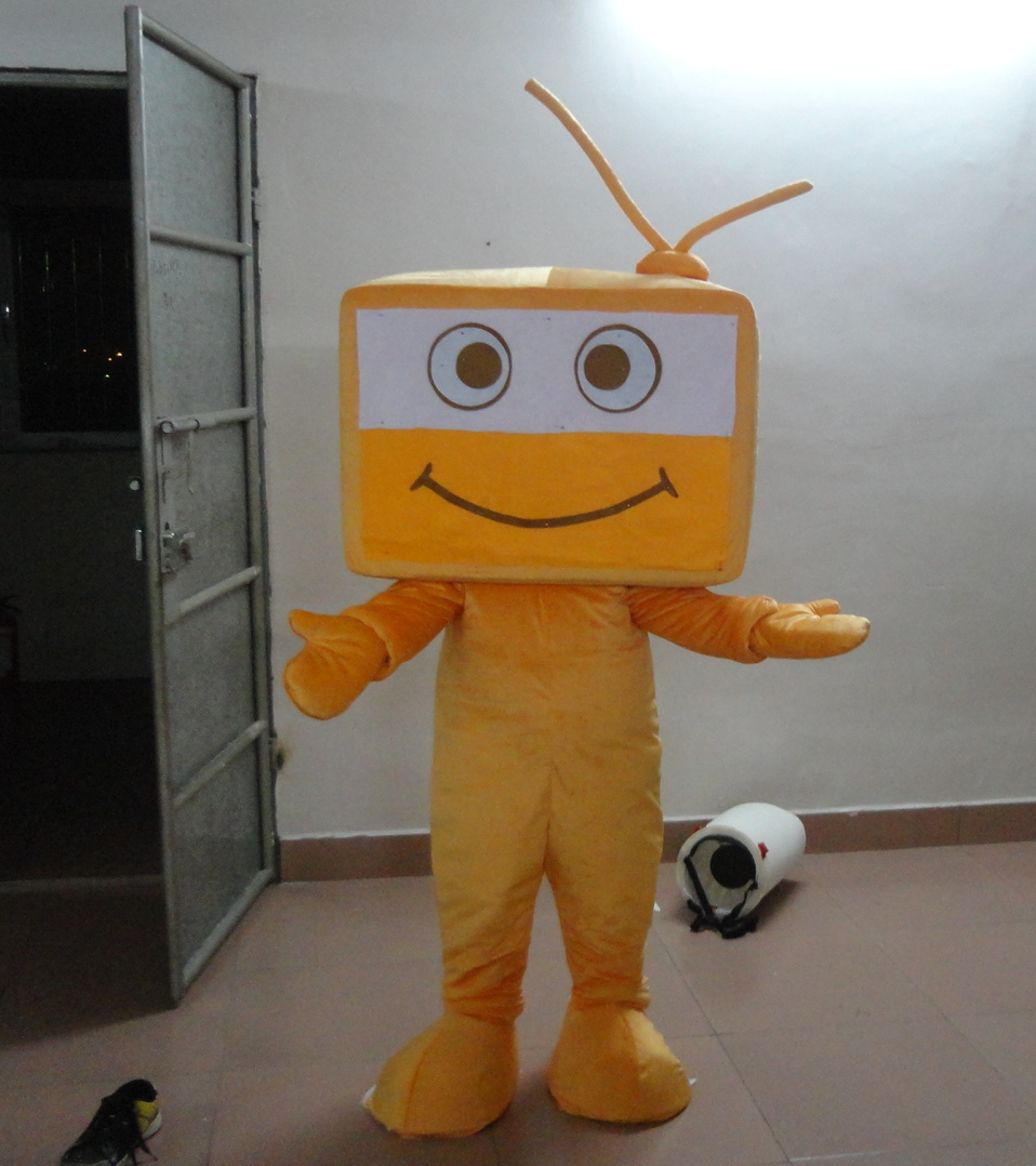 Mascotte ville Orange TV mascotte costume personnalisé anime cosplay kits mascotte déguisement carnaval costume