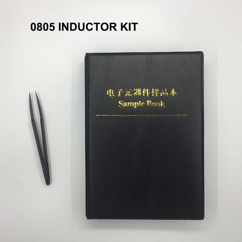 Free Shipping 2600pc 0805 Smd Inductor Kit 0805 Inductor Assortment Sample Book For Inductor Book 52value*50pc Inductance Kit