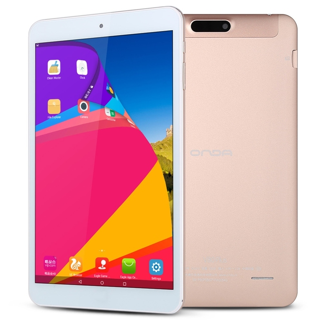 8.0 inch Onda V80 Plus Tablet PC Dual OS Intel Cherry Trail Z8300 64bit Quad Core HDMI 2GB+32GB Dual Camera Win10+Android 5.1