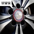 4 pcs/set Car Styling Aluminum Alloy Wheel Hub Cover Decorative Circle Trim For Mercedes Benz GLK/ML/GL/CLA/B/C/E Class series