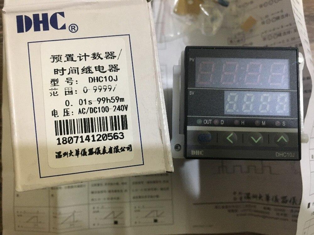 Счетчик DHC DHC10J реле времени двухфункциональный прибор таймер подсчет один