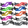 FXCNC CNC Short Adjustable Racing Motorbike Brake Clutch Levers A Pair10 Colors ForYamaha FZ1 FAZER 06-13 XJ6 DIVERSION 09-15