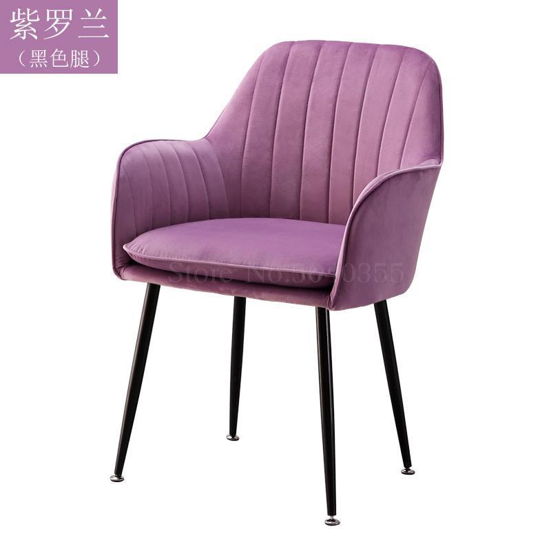 Современный дизайн, мягкий обеденный стул, модный прозрачный стул для гостиной, отдыха, мебель, стул-Лофт - Цвет: VIP 11