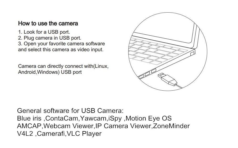 US $70 64 22% OFF|5MP mini USB camera 5 50mm manual varifocal lens Aptina  MI5100 CCTV Mini micro HD surveillance Camera-in Surveillance Cameras from