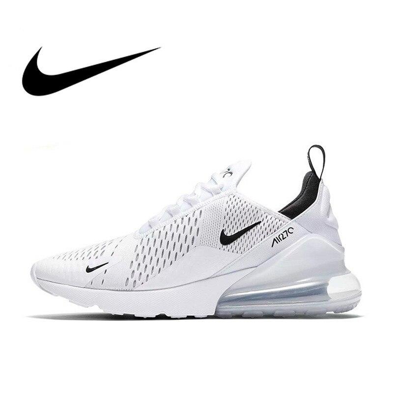 Chaussures de course Nike Air Max 270 pour hommes chaussures de Sport en plein Air confortables et respirantes chaussures d'entraînement Jogging AH8050-100