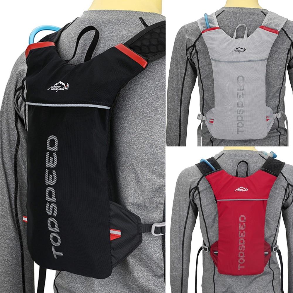 Outdoor Running Camelback Water Bag Backpack Women Men Jogging Sport Backpack Trail Running Marathon Bag trail running