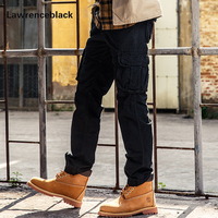 Combat Military Tactical Pants Men Large Pocket Army Cargo Pants Casual Cotton Militar Long Trousers Hip