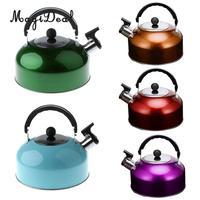 MagiDeal Anti Hot Slip Whistling Tea Kettle Gas Stove 3L Stainless Steel Tea Kettle Water Bottle